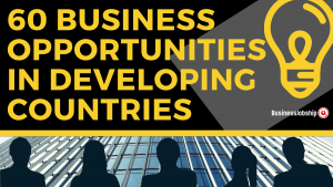 business opportunities for developing countries