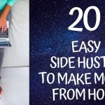 20 Easy Side Hustle Jobs to Make Money from Home-4