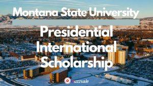 MSU presidential scholarship