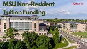 MSU non resident funding