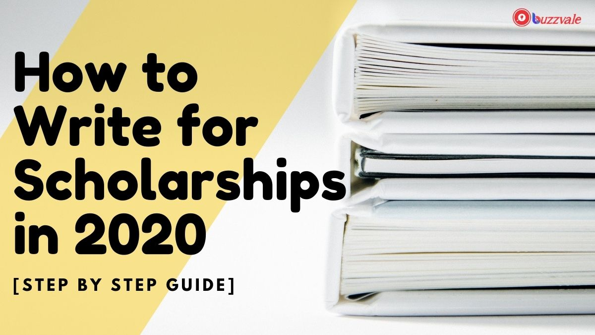how to write for scholarships
