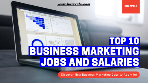 top 10 business marketing jobs and salaries