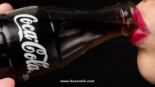 drink a refreshing taste of coca-cola