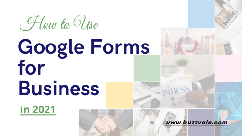 google forms for business