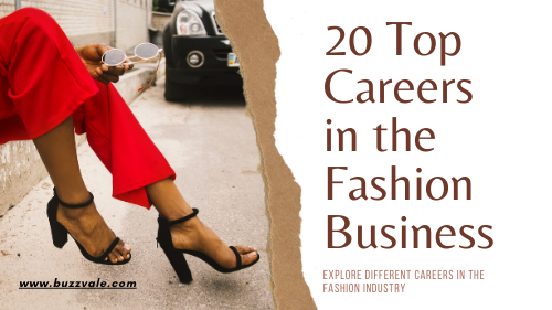 careers in fashion business