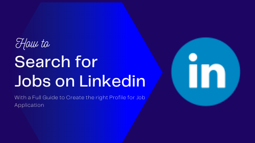 search for jobs on linked in