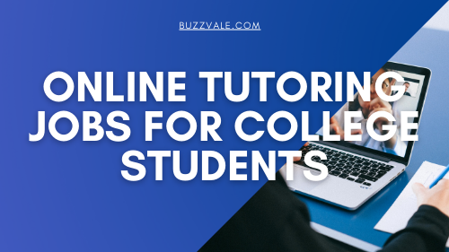 online tutoring jobs for college students