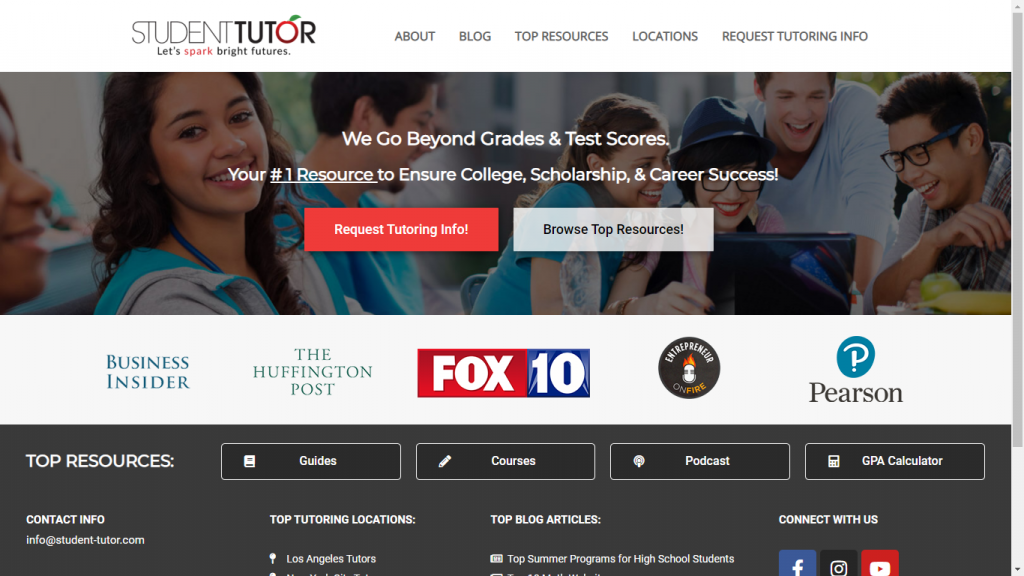 online student tutoring jobs