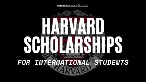 harvard scholarships