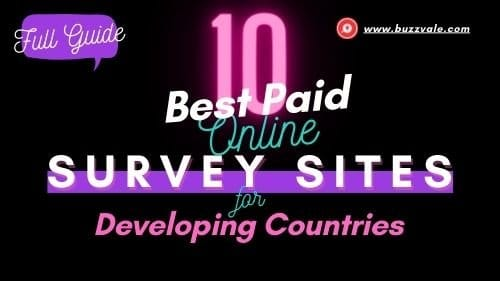 10 best survey sites online paid