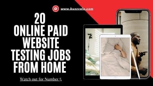 website testing jobs online